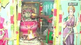 சமயபுரம் மாரியம்மன் கோயில் மூலஸ்தான சேவை நிறுத்திவைப்பு