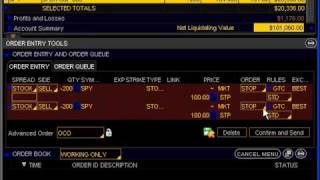 156. How to Trade Using One Cancels Other (OCO) Orders
