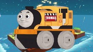 Thomas and Friends Minis - New Set JAMES' JURASSIC COVE - Fun Thomas All Trains Kids Game Video