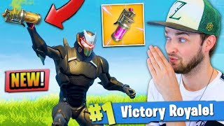 *NEW* STINK BOMB gameplay - IS IT GOOD? - Fortnite: Battle Royale!