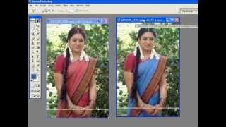 How to change Dress color in easy way using PHotoshop(9014819428)