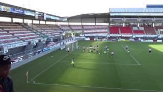 Sparta B1 - Ajax B1 8-4-2015 (1-1) : GOAL Martijn Kaars