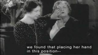 Helen Keller & Anne Sullivan (1928 Newsreel Footage with Open Captions and Audio Description)