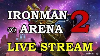 Iron Man IW Arena - Part 2 | Marvel Contest of Champions Live Stream