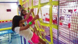 Locuras en el PARQUE DE TRAMPOLINES!!! Vacaciones de Verano   TV ANA EMILIA