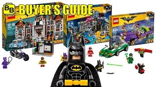 BUYER'S GUIDE COUNTDOWN FOR THE 2017 LEGO BATMAN MOVIE SETS