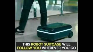 Fully Autonomous Robot Suitcase 智能行李箱