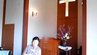 三春新生教会 賛美「イエスの御腕に」
