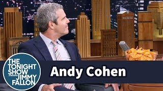 Jimmy Surprises Andy Cohen with His Fave Snacks Doritos and SpaghettiOs