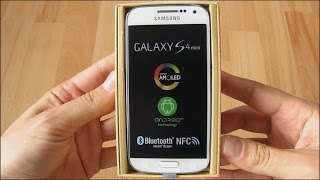 Samsung Galaxy S4 mini LTE - GT-I9195 unboxing, audio: English