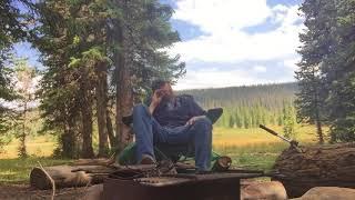 A Cigar At Camp