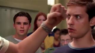 Spiderman movie first   School Fight Scene   HD1