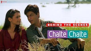 Behind The Scenes | Chalte Chalte | Rani Mukherji, Shah Rukh Khan | A Film By Aziz Mirza