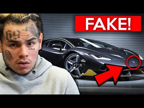 10 Rappers EXPOSED For Fake Flexing 6ix9ine Lil Pump Tyga & MORE