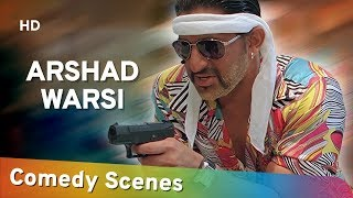 Best Of Arshad Warsi - Comedy Scene Compilation - Bollywood Hit Comedy - (अरशद वारसी हिट कॉमेडी)