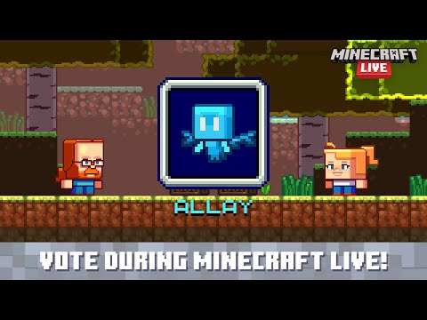 Minecraft Live 2021 Vote for the allay
