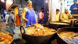Street Food in Pakistan - ULTIMATE 16-HOUR PAKISTANI FOOD Tour in Lahore, Pakistan!