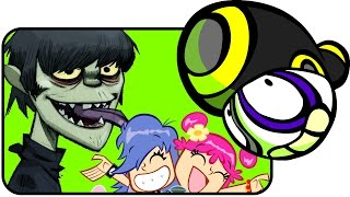 Top 10 ANIMATED BANDS / Musicians [RebelTaxi]