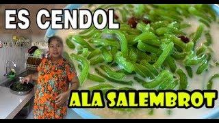 es cendol dawet menul menul - kuliner indonesia
