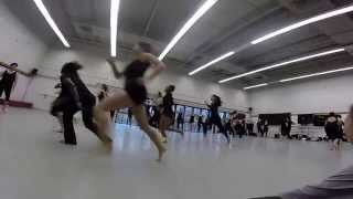 Afro Fusion Dance Showing at Mason Gross 2014