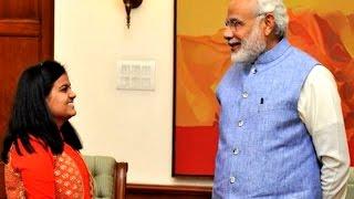 Indian Idol Junior winner Ananya meets PM Narendra Modi