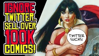 Dynamite Entertainment IGNORES TWITTER and Sells OVER 100K Comic Books!