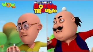 Motu Patlu in Double Trouble Part 02- Movie| Movie Mania - 1 Movie Everyday | Wowkidz