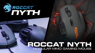 ROCCAT Nyth | Official unboxing [Modular MMO Gaming Mouse]