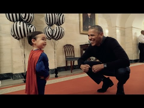Trick or Treat Halloween 2016 at the White House
