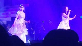 Regine Velasquez and Angeline Quinto - Whitney houston medley Royals Concert MOA Arena Feb 13 2016