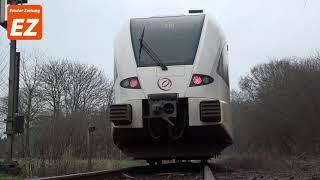 Unfall an Bahnstrecke in Weener