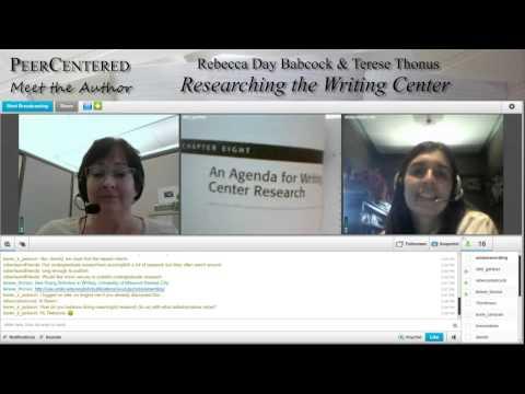 PeerCentered Meet the Author: Rebecca Babcock & Terese Thonus (4/15/13)