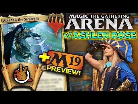 Xxx Mp4 MTG Arena M19 Preview Card W Ashlen Rose The Command Zone 215 Magic The Gathering Commander 3gp Sex