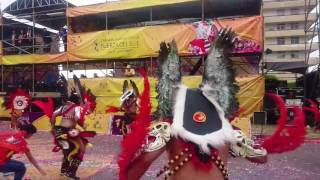 Carnaval de arica 2017 tobas gigantes alados