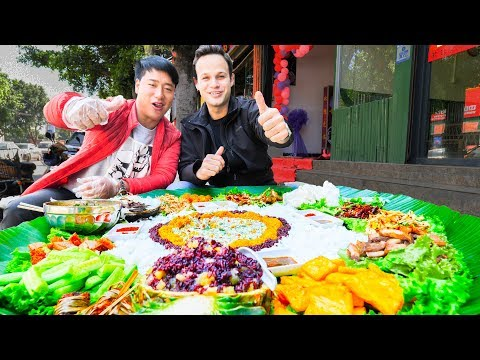 UNSEEN STREET FOOD in China BEST Street Food in the WORLD BBQ Pork & SPICY Noodles