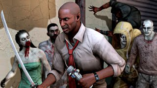 Left 4 Dead 2 Solo Realism Expert Melee Only Dead Air