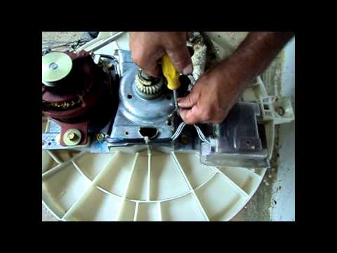 Maquina de lavar Electrolux desmontagem
