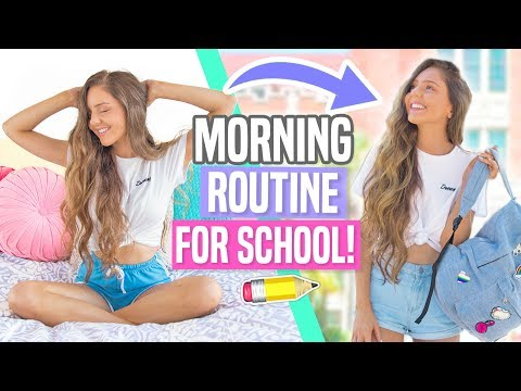 Xxx Mp4 My Morning Routine For School Back To School 2017 3gp Sex