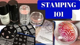 Nail Art for Beginners: How to STAMP!!