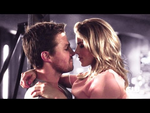 Oliver & Felicity Love Scene 5x20 {WITHOUT BG MUSIC}