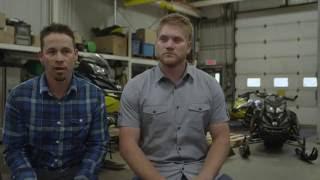 2016 Iron Dog Race Winners Visit Ski-Doo Headquarters