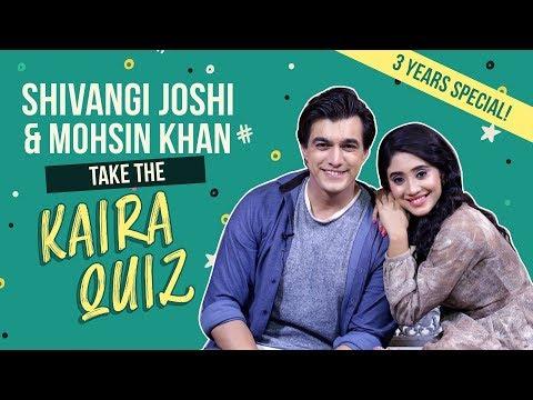 Xxx Mp4 Shivangi Joshi And Mohsin Khan Take The 39 Kaira 39 Quiz Yeh Rishta Kya Kehlata Hai Kaira 3gp Sex