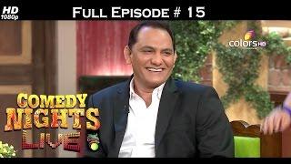 Comedy Nights Live - 15th May 2016 - Emraan & Azharuddin - कॉमेडी नाइट्स लाइव - Full Episode (HD) HD