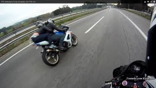 EPIC Motorcycle Fly By COMPILATION - 2018