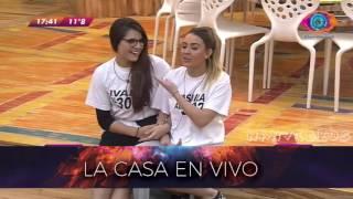 #GH 2016 20/08 - Le gritan a Yasmila que Pato la dejo y la reaccion Gran Hermano 2016