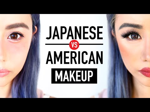 Japanese Makeup vs. American Makeup ♥ Before & After Transformation ♥ Kawaii or Sexy? ♥ Wengie