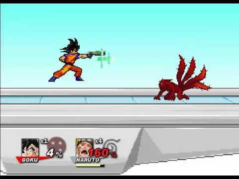 Goku vs Naruto SSF2 The FInal Conclusion 2017