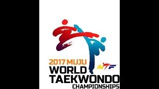 [Live_Day1:Court1]2017 World Taekwondo Championships, Muju (W-46kg, M-54kg)