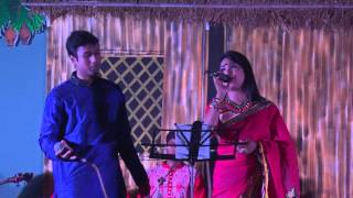 Saleq & Ethi performing duet song in SB on Pohela Boishakh