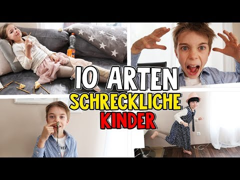 10 Arten Die SCHLIMMSTEN Kinder der WELT Lulu & Leon Family and Fun
